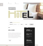 Hotels Website  Template 58444