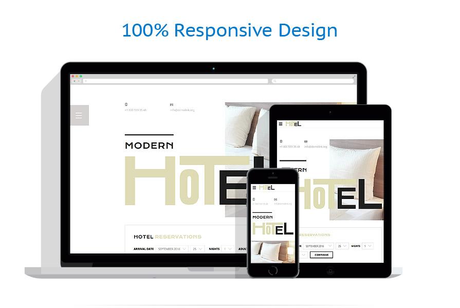 Modèles HTML5 Hôtels #58444