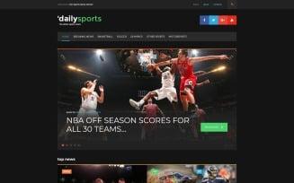 DailySports - Sport Magazine WordPress Theme