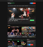 Sport WordPress Template 58446