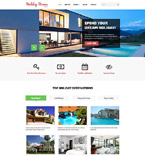 Real Estate Website  Template 58447