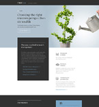 Landing Page  Template 58450