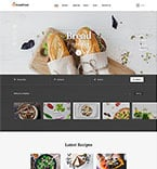 Food & Drink Website  Template 58456