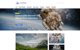 Science News Portal & Magazine WordPress theme