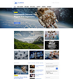 Media WordPress Template 58459