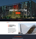 Architecture Website  Template 58463