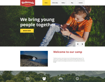 Redwoods WordPress Theme