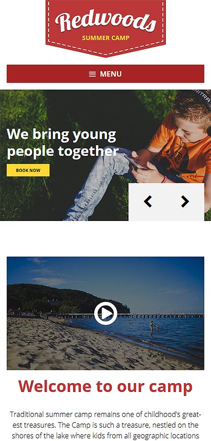 WordPress Theme/Template 58465 Main Page Screenshot