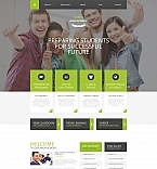 Education Moto CMS HTML  Template 58469