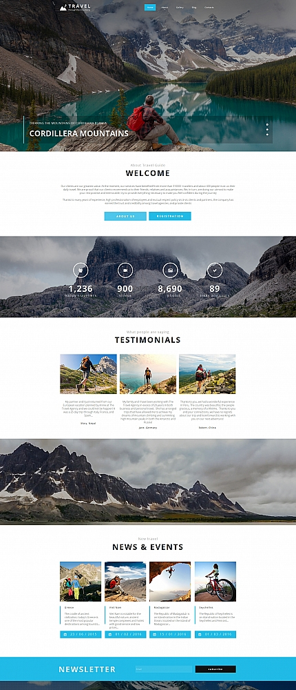 ADOBE Photoshop Template 58474 Home Page Screenshot
