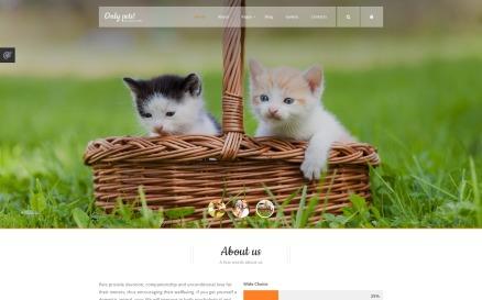 Animals Pets Joomla Template