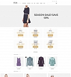 Fashion MotoCMS Ecommerce  Template 58481