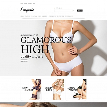 Preview image of Fashion MotoCMS Ecommerce Template No. 58482