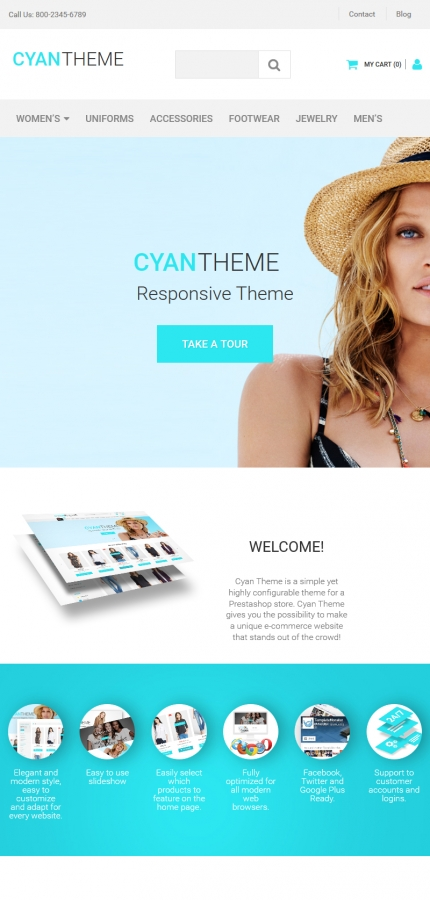 ADOBE Photoshop Template 58485 Home Page Screenshot