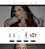 Jewelry MotoCMS Ecommerce  Template 58487