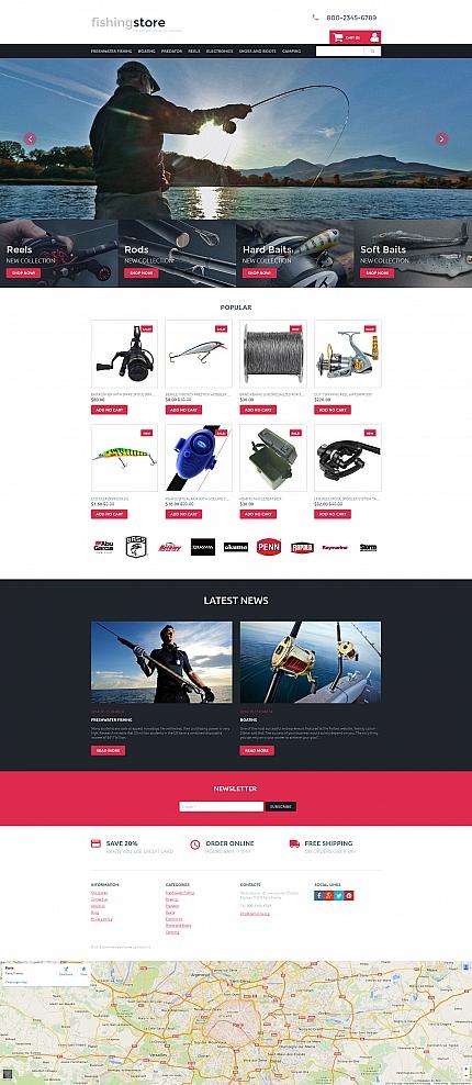 ADOBE Photoshop Template 58488 Home Page Screenshot