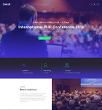 Entertainment Landing Page  Template 58491