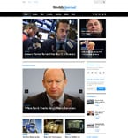 Media WordPress Template 58497