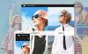 Адаптивний PrestaShop шаблон на тему одяг New Screenshots BIG