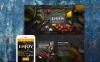 Адаптивный Шаблон посадочной страницы №58460 на тему итальянский ресторан New Screenshots BIG
