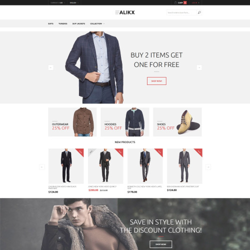 ALIKX - Magento Template based on Bootstrap