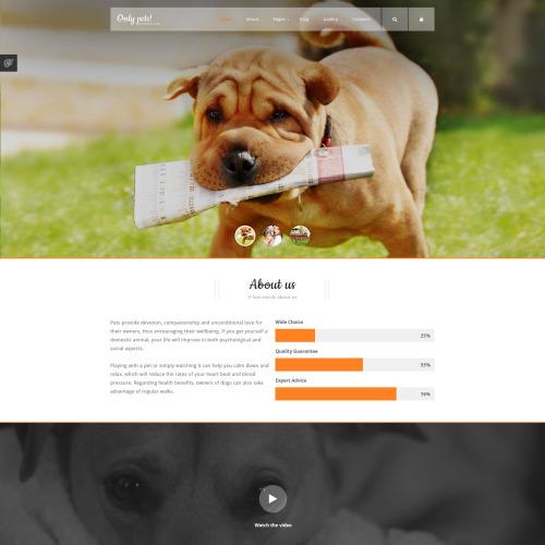 Animals  Pets - Responsive Joomla! Template