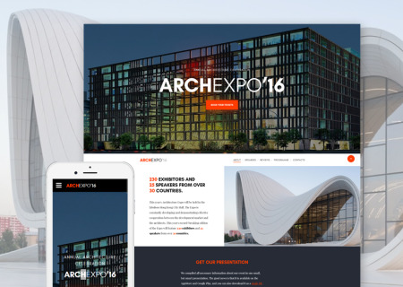 architectural site template