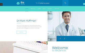 BeDentist - Dental Clinic Joomla Template