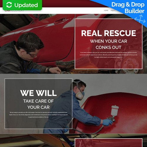 Car Recovery - MotoCMS 3 Template based on Bootstrap
