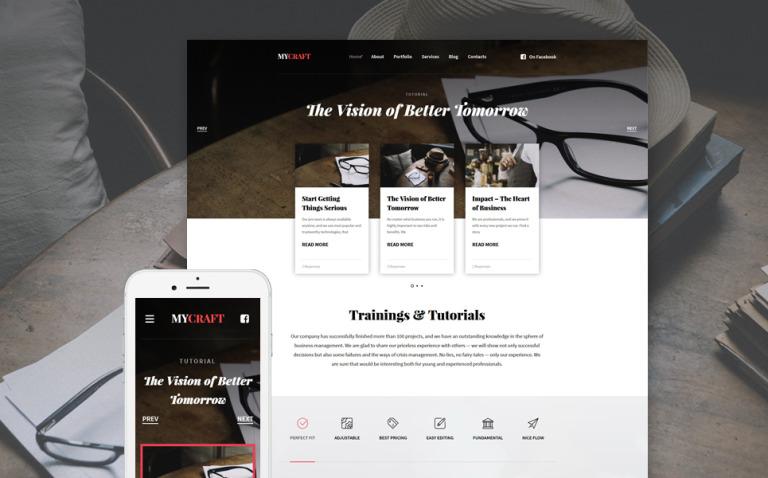 Crafts Responsive WordPress Theme New Screenshots BIG