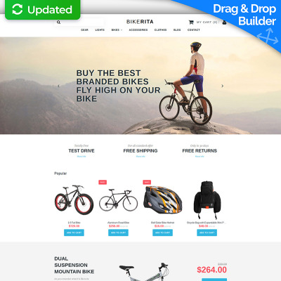 cycling templates templatemonster