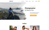 """Davis - Photographer Portfolio Multipage HTML5"" - адаптивний Шаблон сайту"
