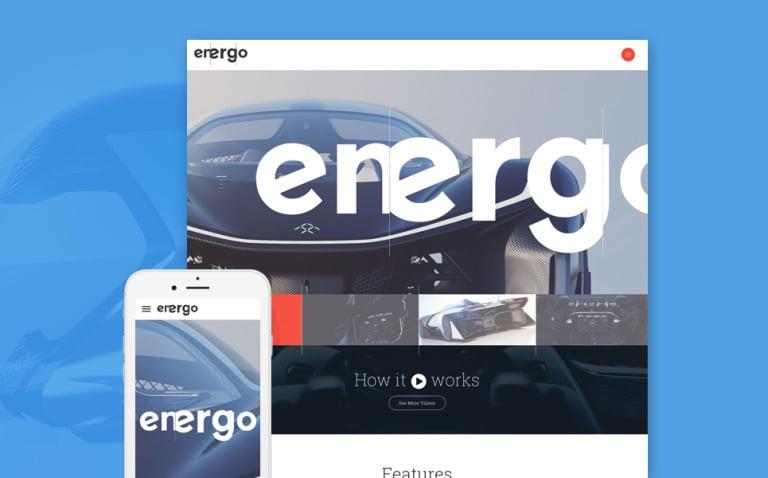 Energo Website Template New Screenshots BIG