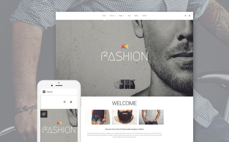 Fashion Blog Joomla Template New Screenshots BIG