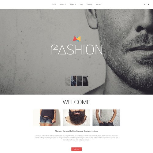 Fashion  - HTML5 Joomla! Template