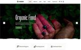 """Herber - Accurate Organic Food Online Store"" Responsive Website template"