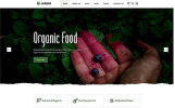 Herber - Accurate Organic Food Online Store Template Web №58411