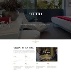 Clean Simple Landing Page Templates TemplateMonster - Simple landing page template