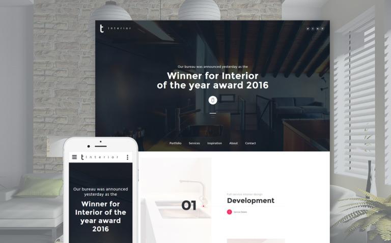 Interior Furniture Website Template New Screenshots BIG