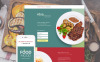 Landing Page Template für Cafe und Restaurant  New Screenshots BIG