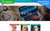 Modèle Moto CMS 3 adaptatif  pour sites de consultation New Screenshots BIG