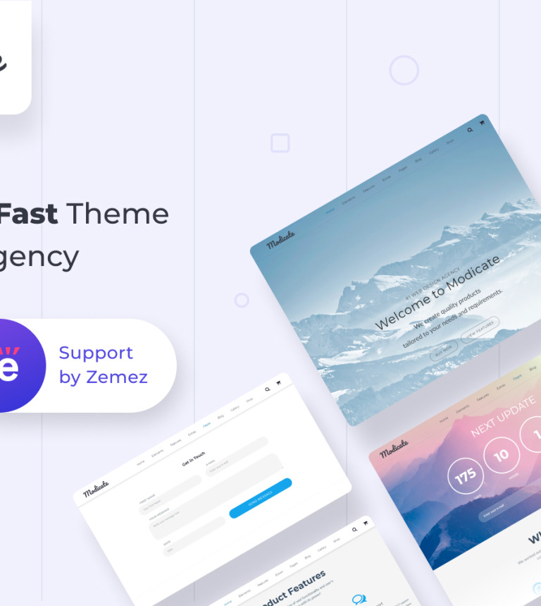 40 New HTML5 Themes & Templates Released in February 2016