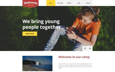Redwoods WordPress Theme