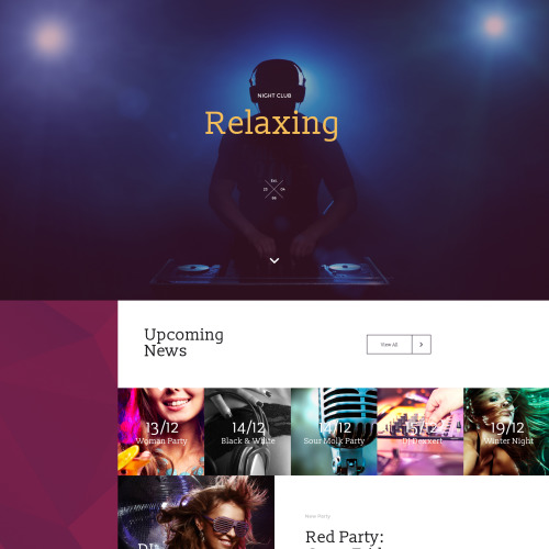 Relaxing - Responsive Landing Page Template