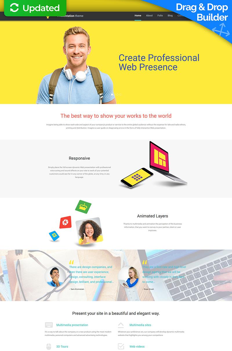 Responsive Web Tasarımı Moto Cms 3 #58414