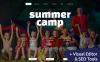 Responsives Moto CMS 3 Template für Sommercamp  New Screenshots BIG