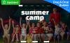 Responzivní Moto CMS 3 šablona na téma Letní tábor New Screenshots BIG