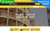 Reszponzív Építőanyag témakörű  MotoCMS Ecommerce sablon New Screenshots BIG