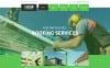 """Roof Repair"" Responsive WordPress thema New Screenshots BIG"