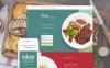 Шаблон цільової сторінки на тему кафе і ресторани New Screenshots BIG